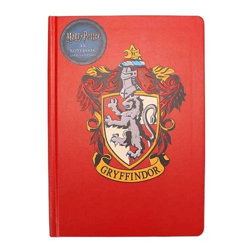 Harry Potter Gryffindor Crest A5 Notebook Note Pad